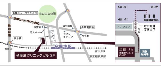 西村デンタルクリニック地図